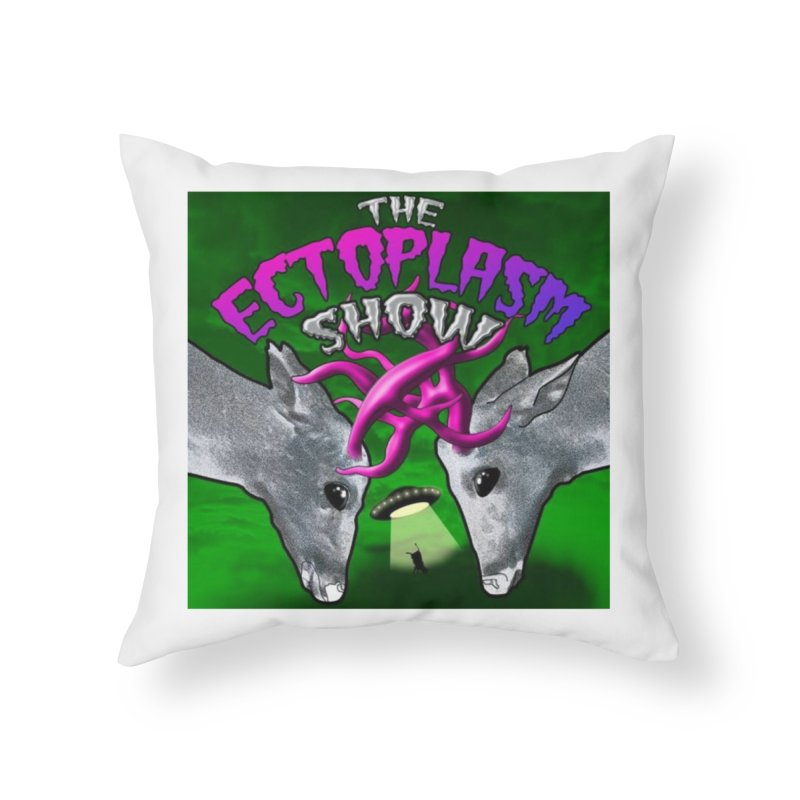 Ruth's Logo Home Throw Pillow by EctoplasmShow's Artist Shop