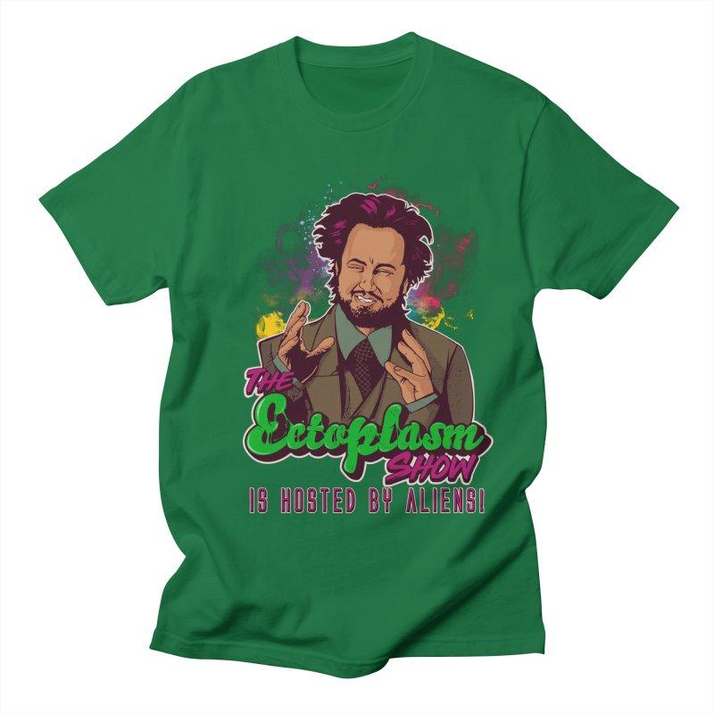 Aliens Dark Men's Regular T-Shirt by EctoplasmShow's Artist Shop
