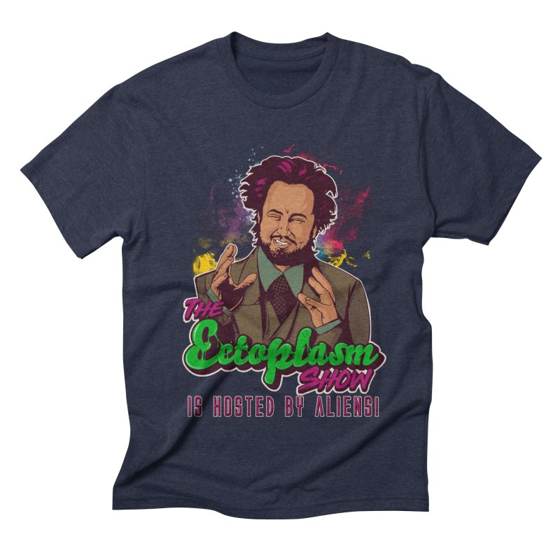 Aliens Dark Men's Triblend T-Shirt by EctoplasmShow's Artist Shop