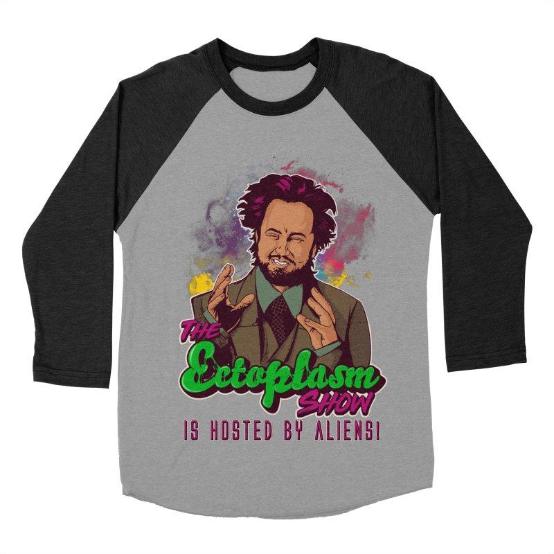 Aliens Dark Men's Baseball Triblend Longsleeve T-Shirt by EctoplasmShow's Artist Shop
