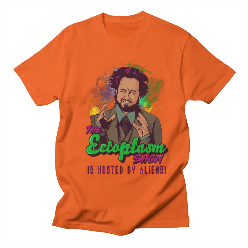 Aliens Light Men's T-Shirt by EctoplasmShow's Artist Shop