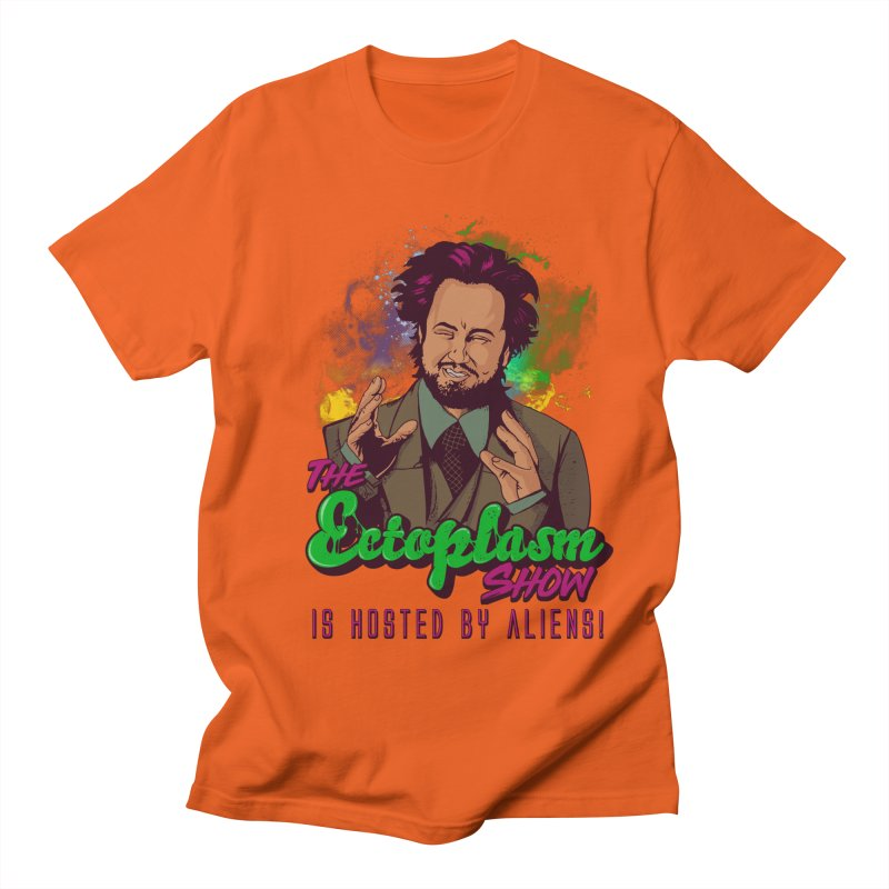 Aliens Light Women's Regular Unisex T-Shirt by EctoplasmShow's Artist Shop
