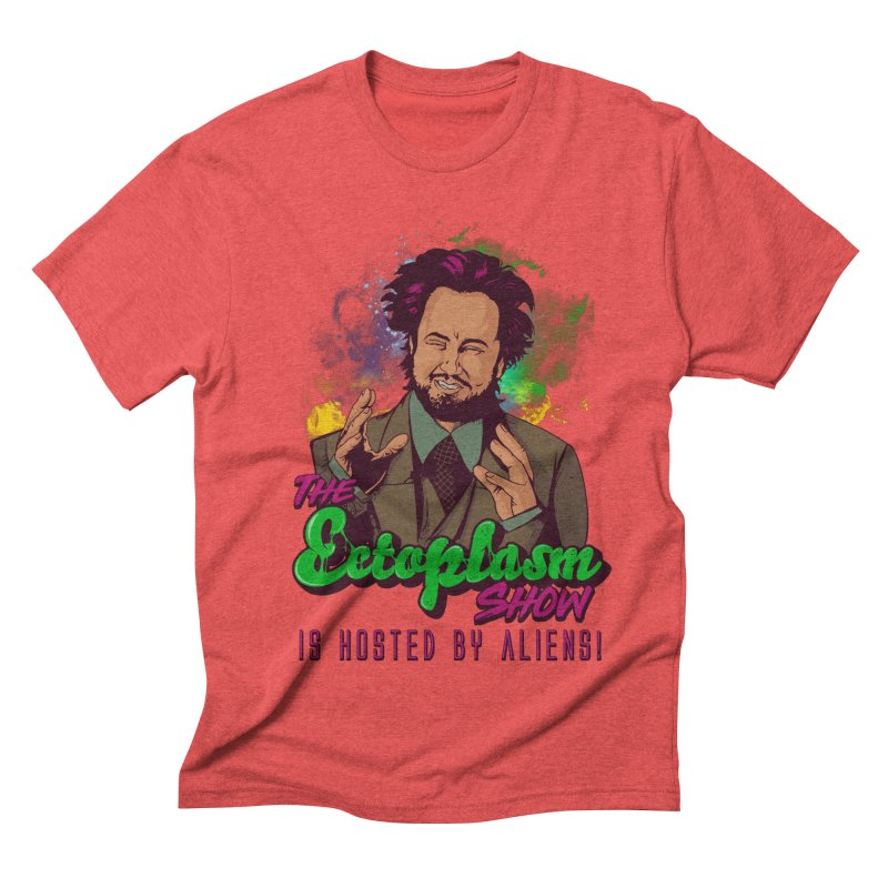 Aliens Light Men's Triblend T-Shirt by EctoplasmShow's Artist Shop