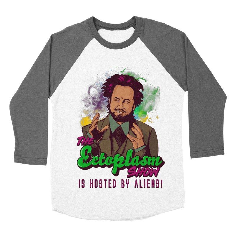 Aliens Light Women's Longsleeve T-Shirt by EctoplasmShow's Artist Shop