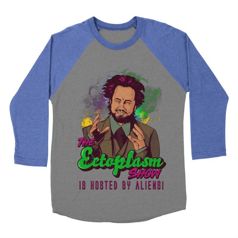 Aliens Light Women's Baseball Triblend Longsleeve T-Shirt by EctoplasmShow's Artist Shop