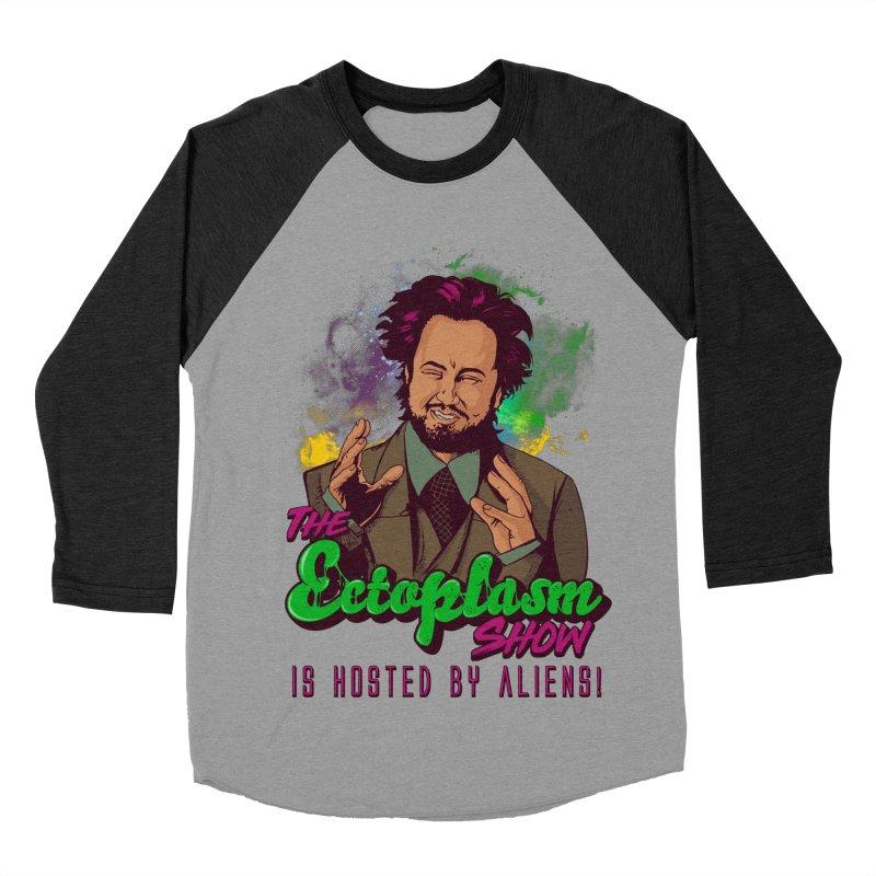 Aliens Light Men's Baseball Triblend Longsleeve T-Shirt by EctoplasmShow's Artist Shop