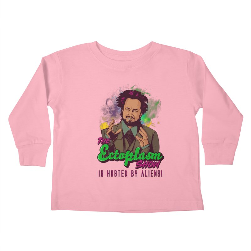 Aliens Light Kids Toddler Longsleeve T-Shirt by EctoplasmShow's Artist Shop