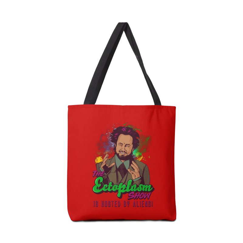 Aliens Light Accessories Tote Bag Bag by EctoplasmShow's Artist Shop