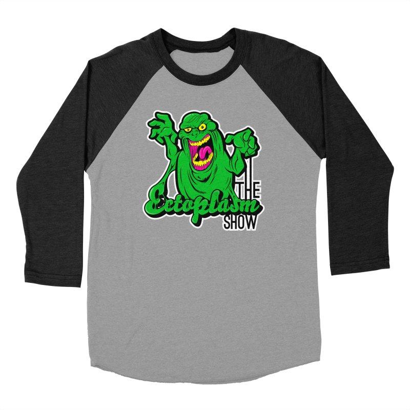 Ectoplasm Logo Dark Men's Baseball Triblend Longsleeve T-Shirt by EctoplasmShow's Artist Shop