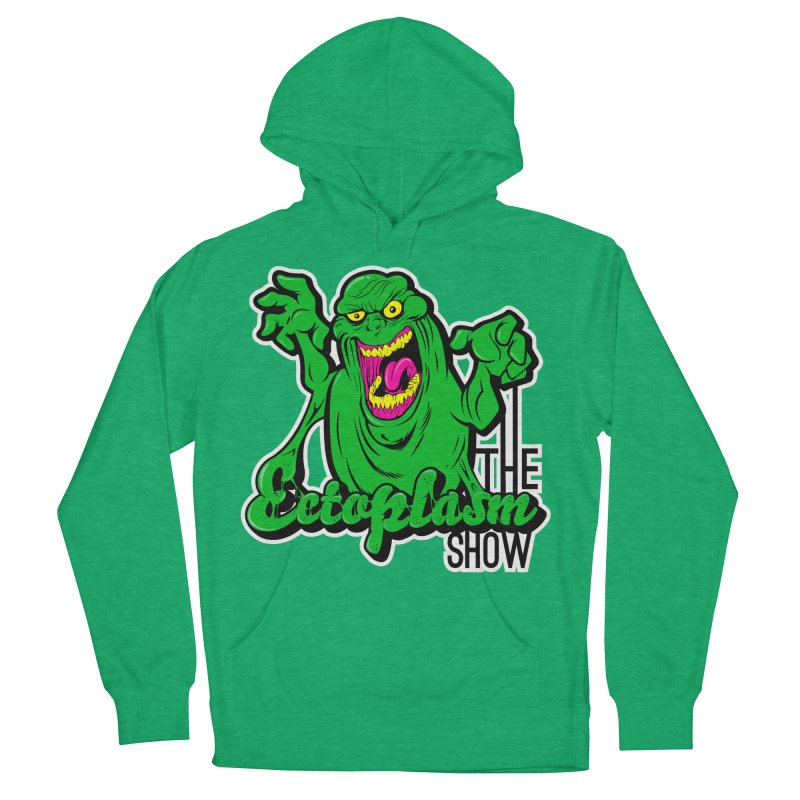 Ectoplasm Logo Dark Men's French Terry Pullover Hoody by EctoplasmShow's Artist Shop