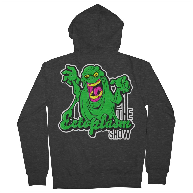 Ectoplasm Logo Dark Men's French Terry Zip-Up Hoody by EctoplasmShow's Artist Shop