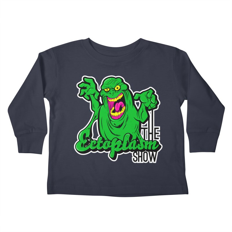 Ectoplasm Logo Dark Kids Toddler Longsleeve T-Shirt by EctoplasmShow's Artist Shop