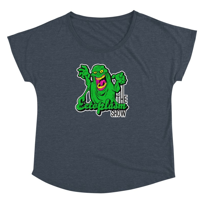 Ectoplasm Logo Dark Women's Dolman Scoop Neck by EctoplasmShow's Artist Shop