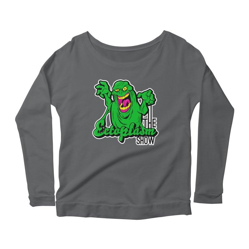 Ectoplasm Logo Dark Women's Scoop Neck Longsleeve T-Shirt by EctoplasmShow's Artist Shop
