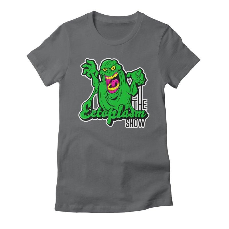 Ectoplasm Logo Dark Women's Fitted T-Shirt by EctoplasmShow's Artist Shop