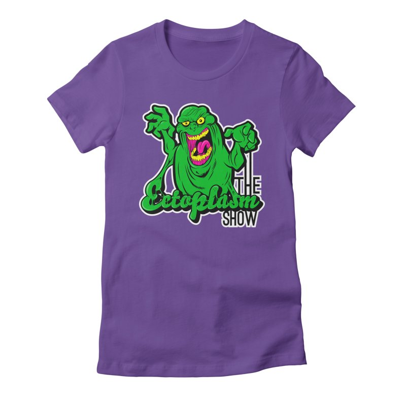 Ectoplasm Logo Dark Women's Fitted T-Shirt by EctoplasmShow's Artist Shop