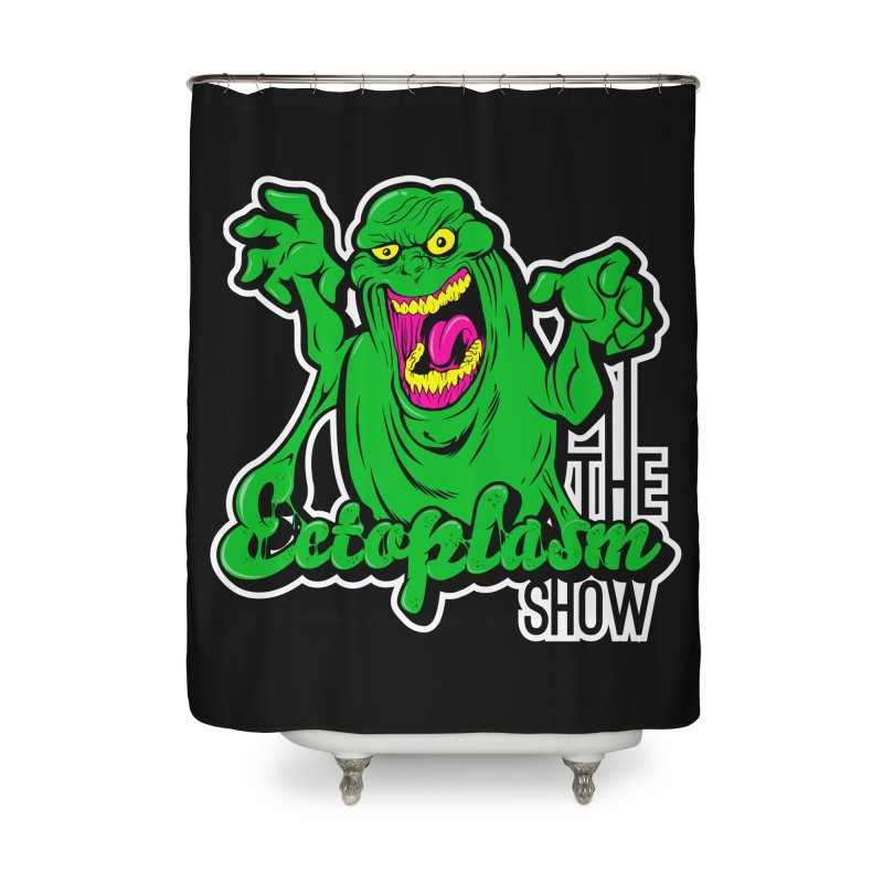 Ectoplasm Logo Dark Home Shower Curtain by EctoplasmShow's Artist Shop