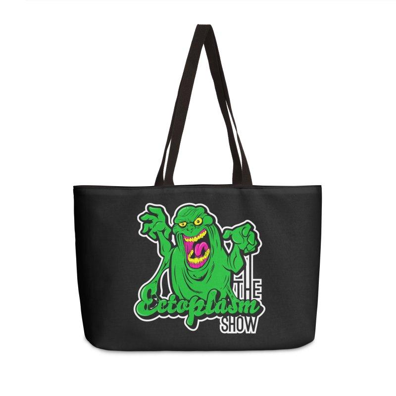 Ectoplasm Logo Dark Accessories Weekender Bag Bag by EctoplasmShow's Artist Shop