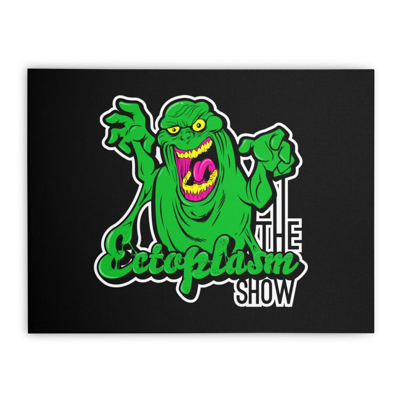 Ectoplasm Logo Dark Home Stretched Canvas by EctoplasmShow's Artist Shop