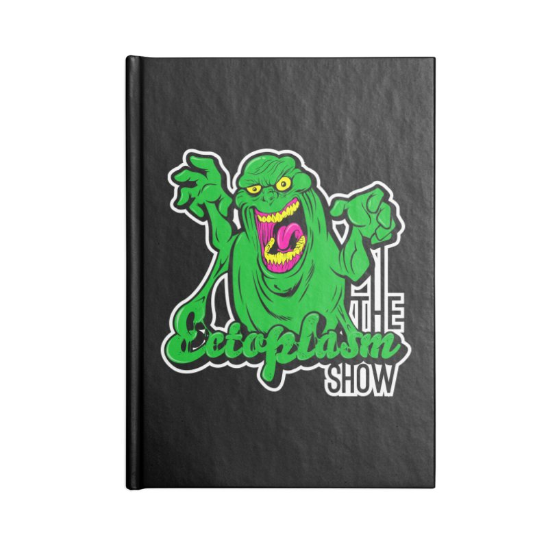 Ectoplasm Logo Dark Accessories Blank Journal Notebook by EctoplasmShow's Artist Shop