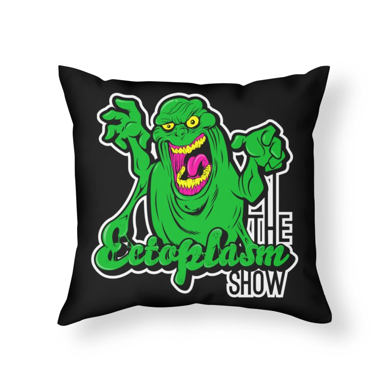 Ectoplasm Logo Dark Home Throw Pillow by EctoplasmShow's Artist Shop