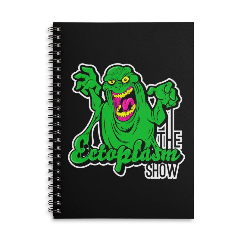 Ectoplasm Logo Dark Accessories Lined Spiral Notebook by EctoplasmShow's Artist Shop