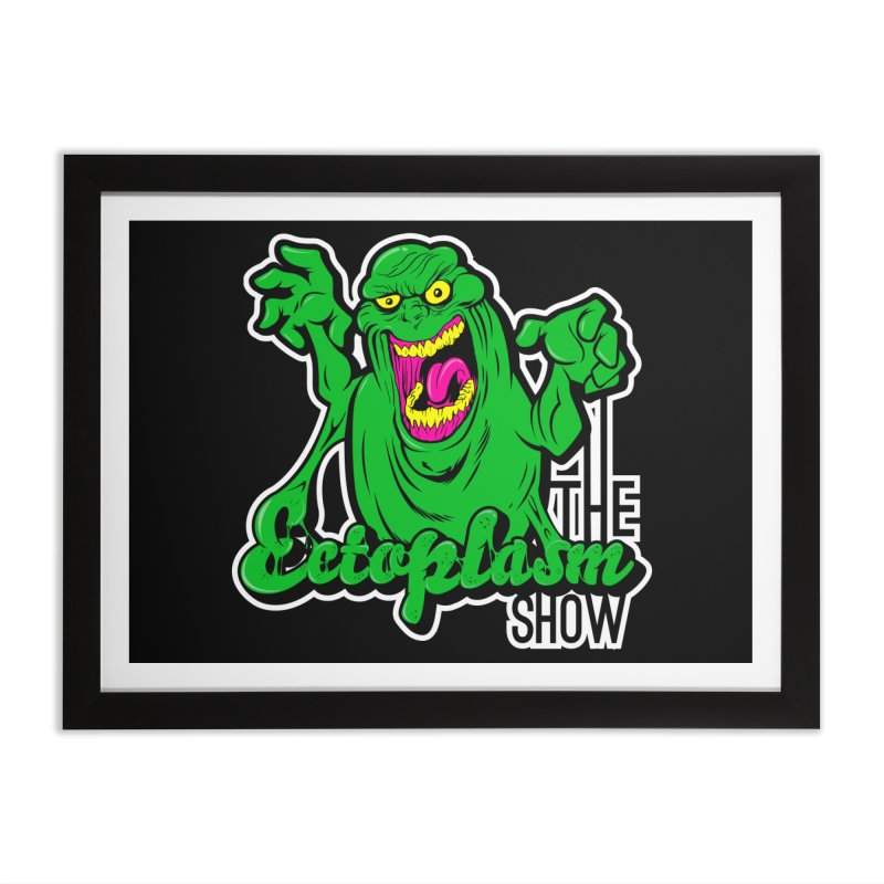 Ectoplasm Logo Dark Home Framed Fine Art Print by EctoplasmShow's Artist Shop