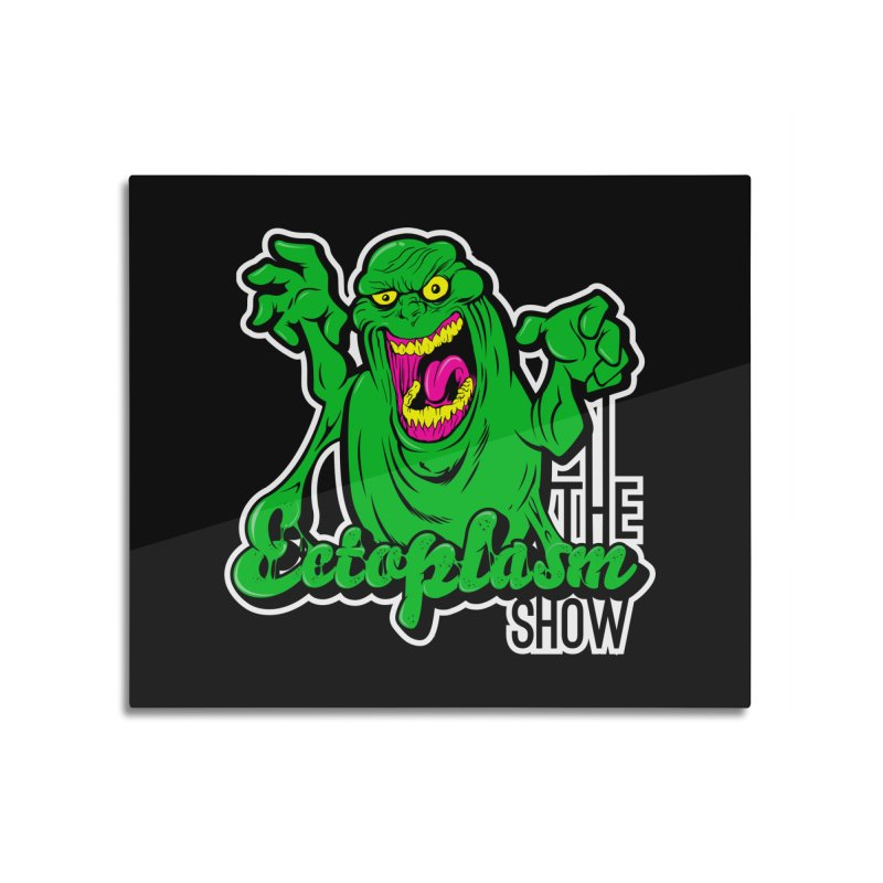 Ectoplasm Logo Dark Home Mounted Aluminum Print by EctoplasmShow's Artist Shop