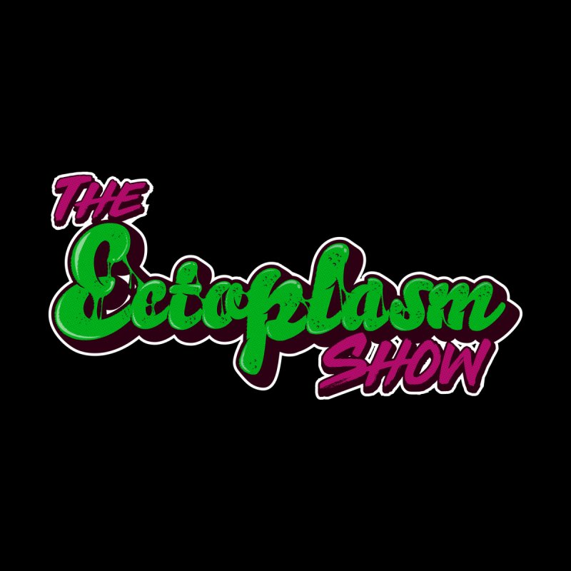The Ectoplasm Show Text Women's V-Neck by EctoplasmShow's Artist Shop