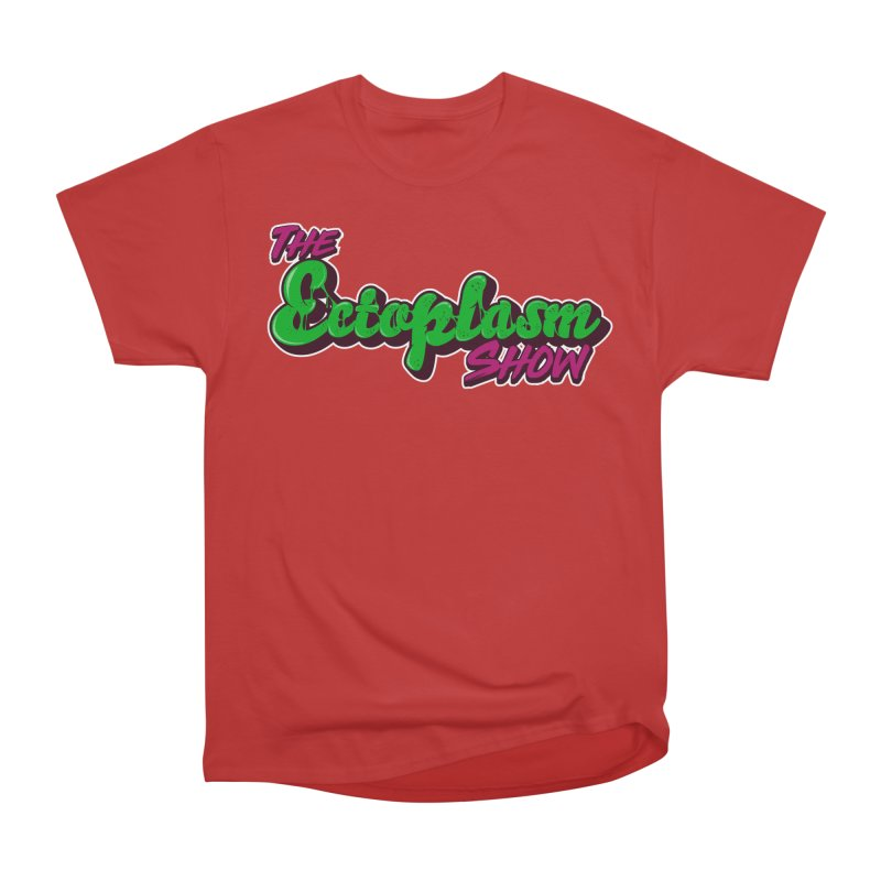 The Ectoplasm Show Text Men's Heavyweight T-Shirt by EctoplasmShow's Artist Shop