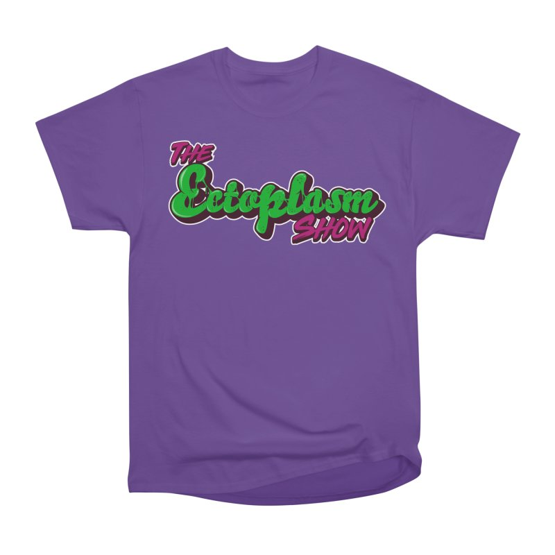The Ectoplasm Show Text Men's Heavyweight T-Shirt by EctoplasmShow's Artist Shop
