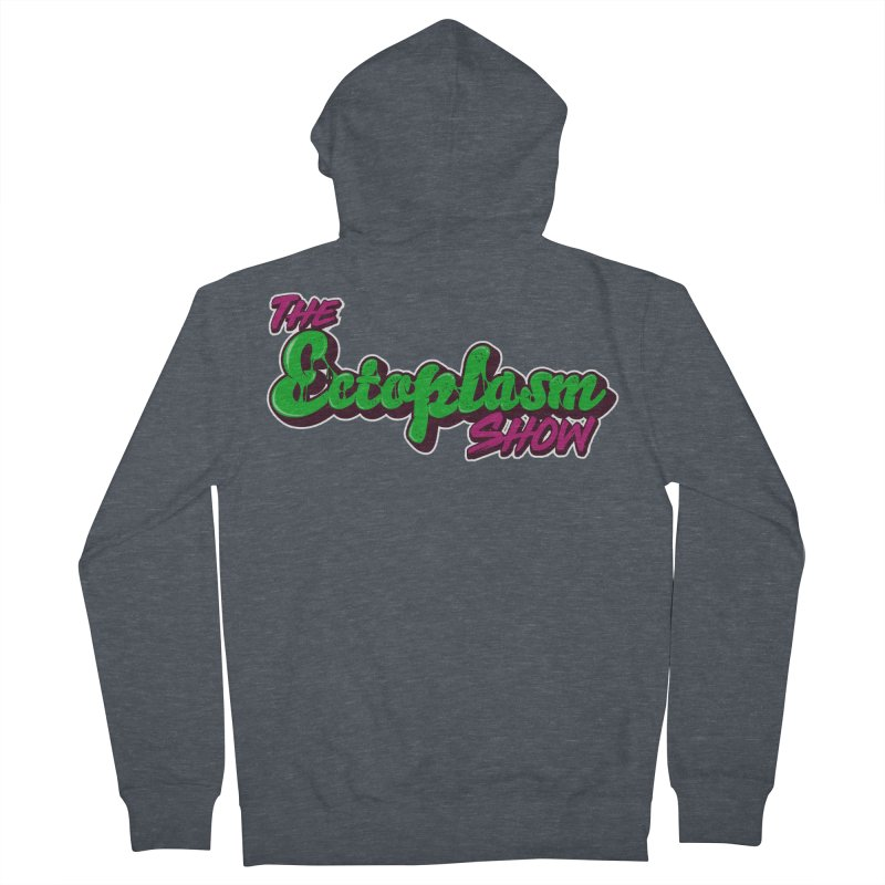 The Ectoplasm Show Text Men's French Terry Zip-Up Hoody by EctoplasmShow's Artist Shop