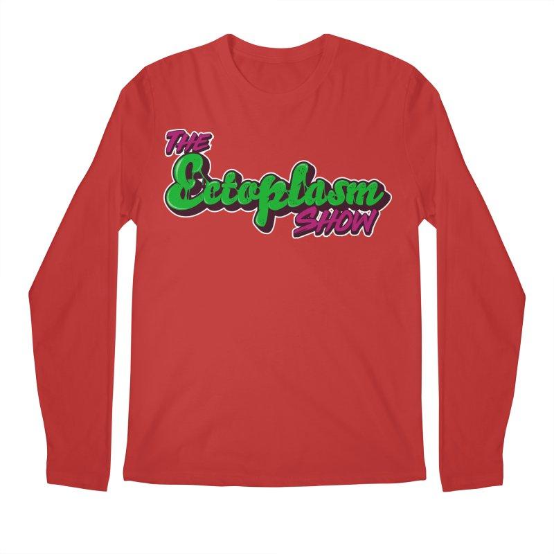 The Ectoplasm Show Text Men's Regular Longsleeve T-Shirt by EctoplasmShow's Artist Shop