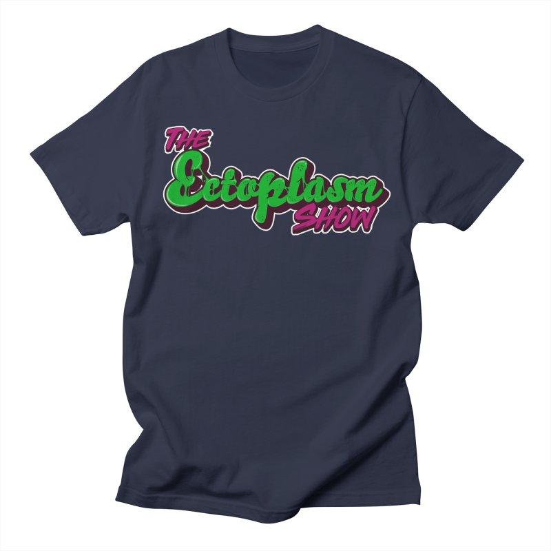 The Ectoplasm Show Text Men's Regular T-Shirt by EctoplasmShow's Artist Shop