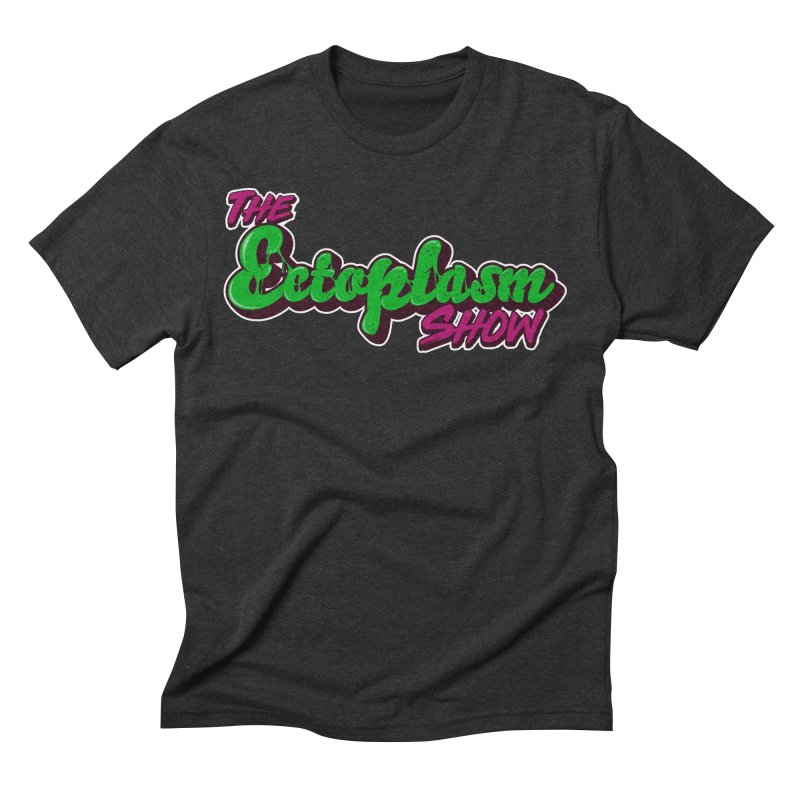 The Ectoplasm Show Text Men's Triblend T-Shirt by EctoplasmShow's Artist Shop