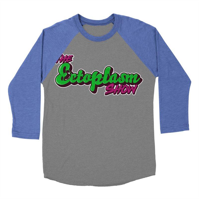 The Ectoplasm Show Text Men's Baseball Triblend Longsleeve T-Shirt by EctoplasmShow's Artist Shop