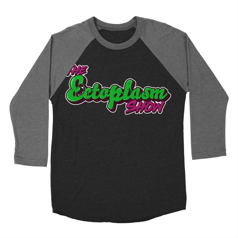 The Ectoplasm Show Text Men's Baseball Triblend Longsleeve T-Shirt by EctoplasmShow's Artist Shop