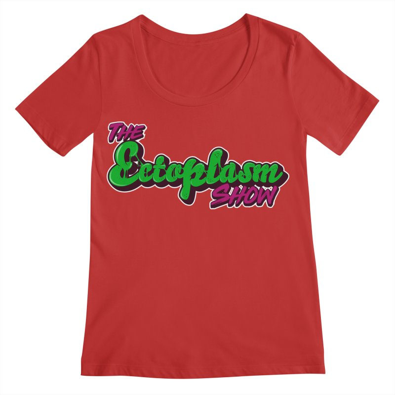 The Ectoplasm Show Text Women's Regular Scoop Neck by EctoplasmShow's Artist Shop