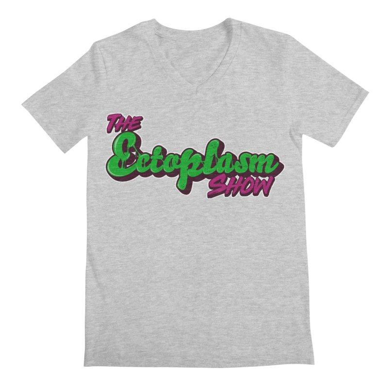 The Ectoplasm Show Text Men's Regular V-Neck by EctoplasmShow's Artist Shop