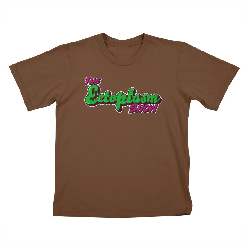The Ectoplasm Show Text Kids T-Shirt by EctoplasmShow's Artist Shop