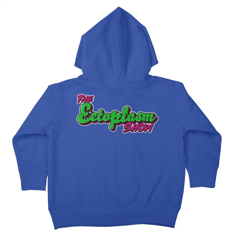 The Ectoplasm Show Text Kids Toddler Zip-Up Hoody by EctoplasmShow's Artist Shop