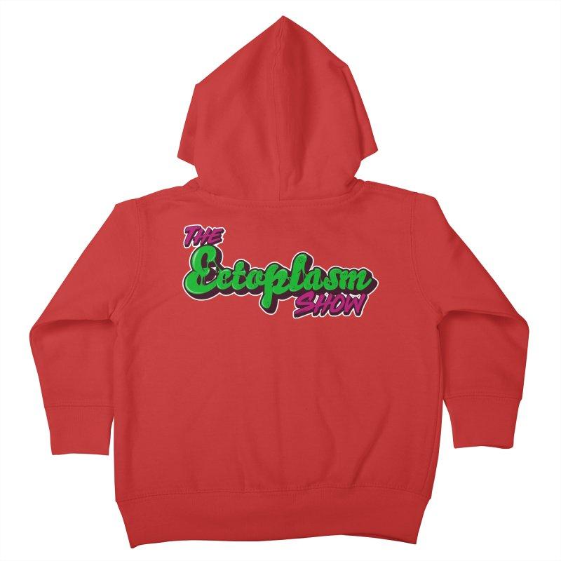 The Ectoplasm Show Text Kids Toddler Zip-Up Hoody by EctoplasmShow's Artist Shop