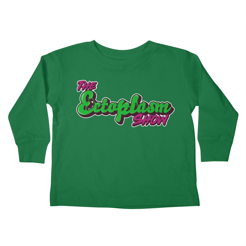 The Ectoplasm Show Text Kids Toddler Longsleeve T-Shirt by EctoplasmShow's Artist Shop