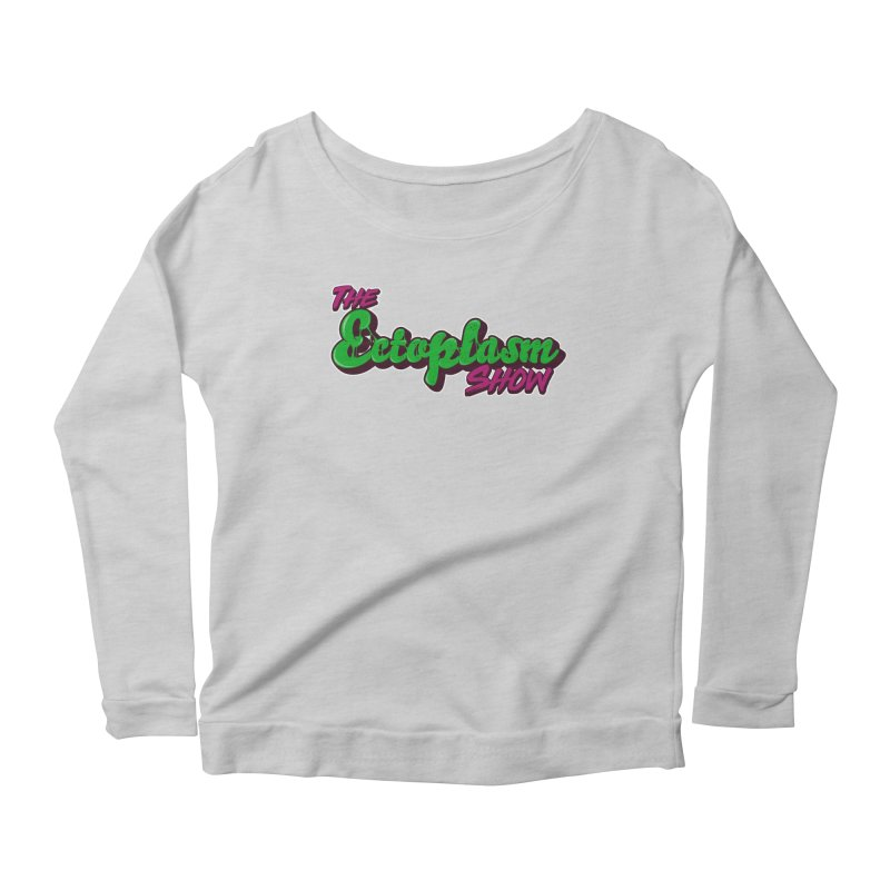 The Ectoplasm Show Text Women's Longsleeve T-Shirt by EctoplasmShow's Artist Shop