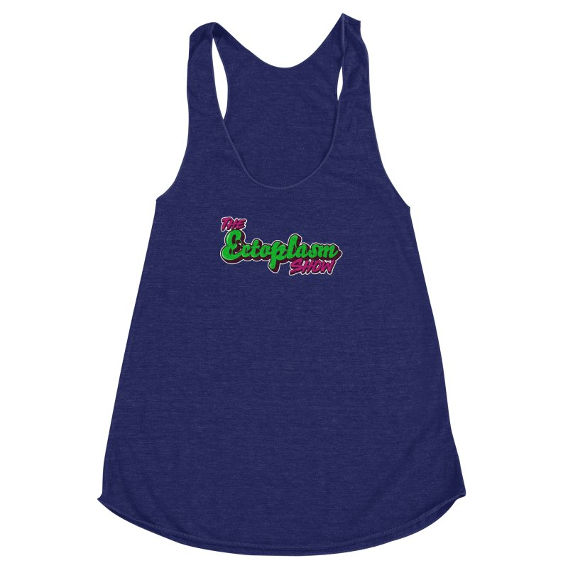 The Ectoplasm Show Text Women's Racerback Triblend Tank by EctoplasmShow's Artist Shop