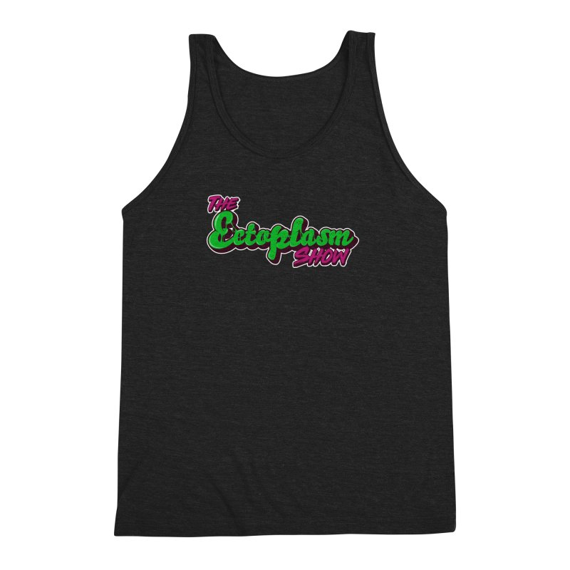 The Ectoplasm Show Text Men's Triblend Tank by EctoplasmShow's Artist Shop