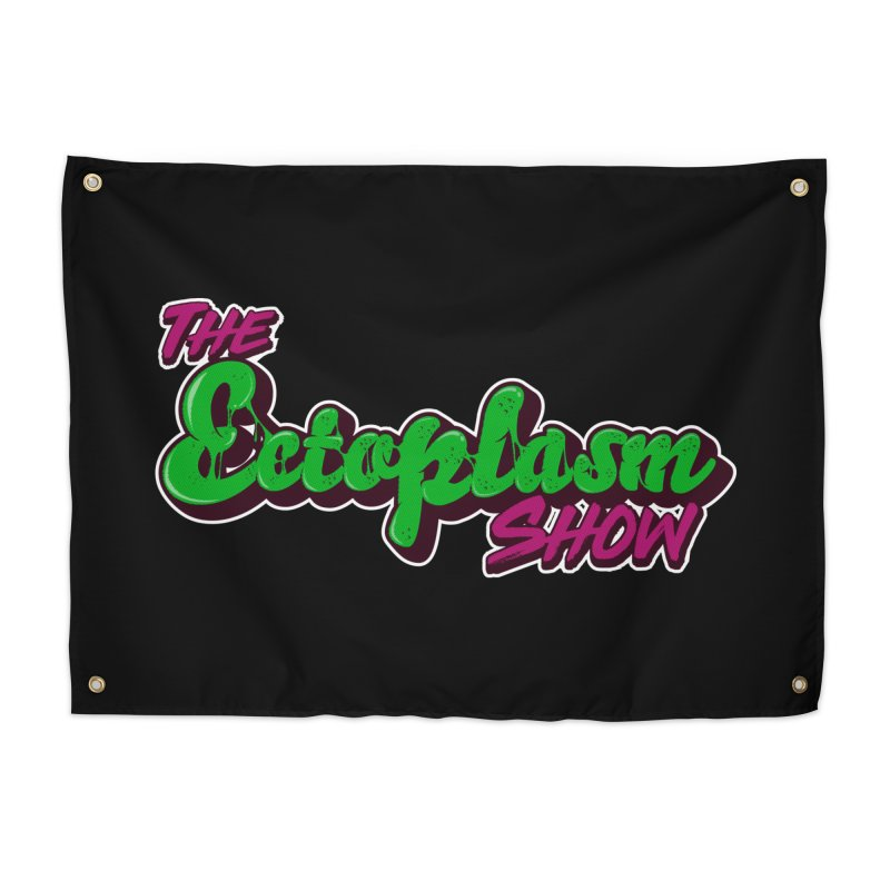 The Ectoplasm Show Text Home Tapestry by EctoplasmShow's Artist Shop