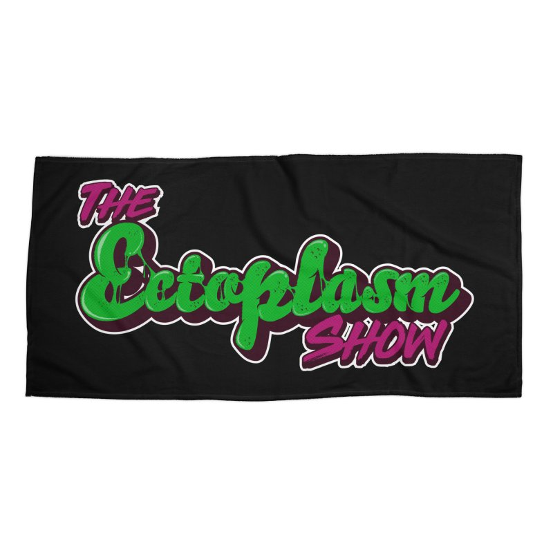 The Ectoplasm Show Text Accessories Beach Towel by EctoplasmShow's Artist Shop