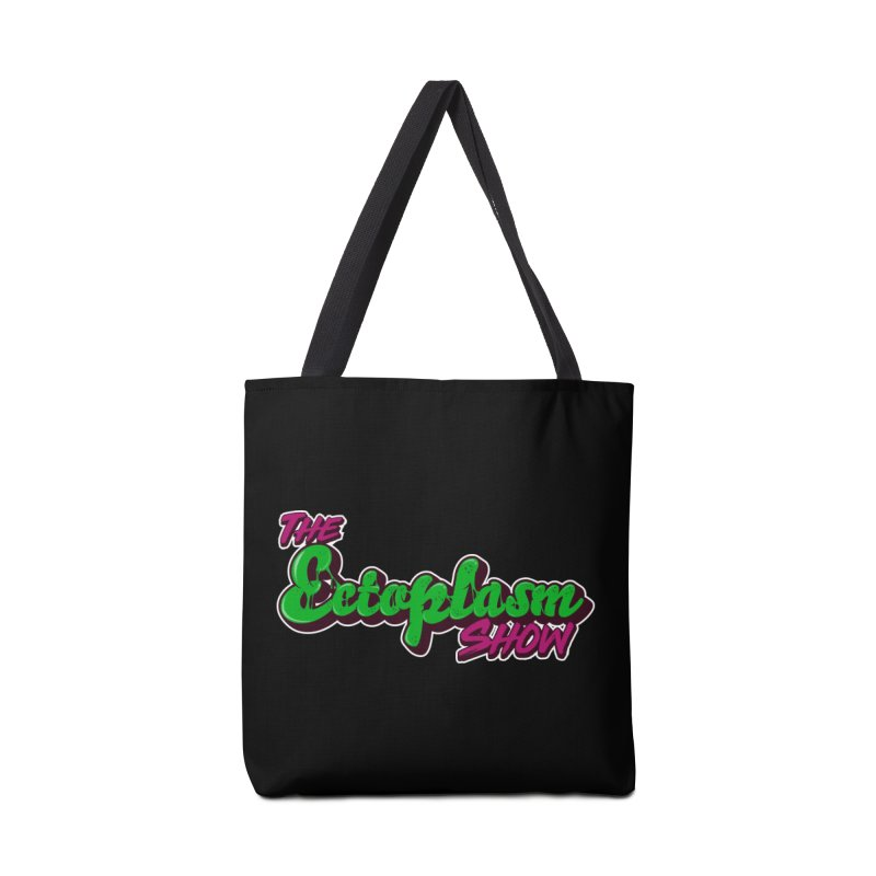 The Ectoplasm Show Text Accessories Tote Bag Bag by EctoplasmShow's Artist Shop