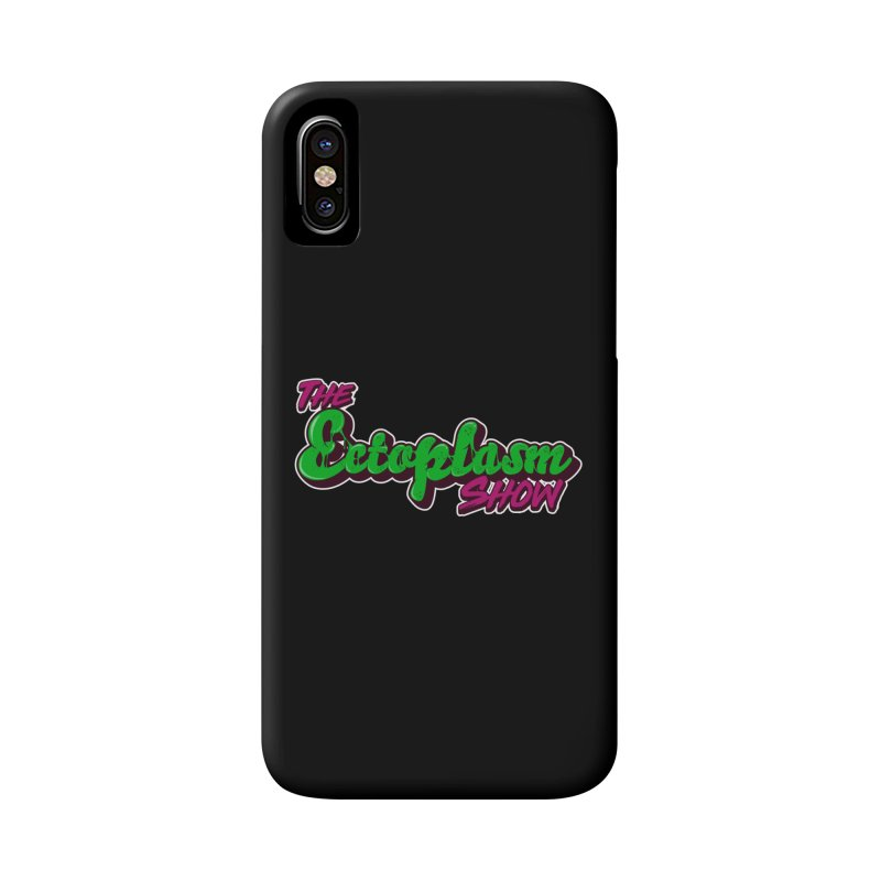The Ectoplasm Show Text Accessories Phone Case by EctoplasmShow's Artist Shop